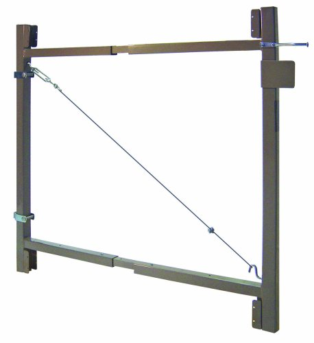 "Adjust-A-Gate Steel Frame Gate Building Kit (36""-60"" wide openings up to 4' high fence)"