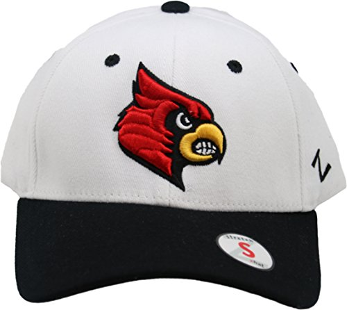 (Zephyr NCAA Louisville Cardinals Flex Fit Adult Cap Hat Small)