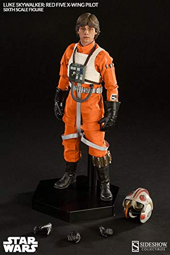 Sideshow Star Wars Episode IV A New Hope: Luke Skywalker Red-Five X-Wing Sixth Scale 12'' Action Figure Exclusive Version by Sideshow (Image #5)