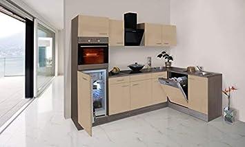 RESPEKTA Economy l-forma angolo cucina angolo cottura rovere York ...