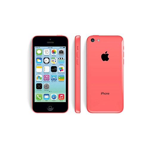 Apple iPhone 5c 32GB Factory Unlocked GSM Smartphone Cell Phone (Certified Refurbished) (32G-Red)