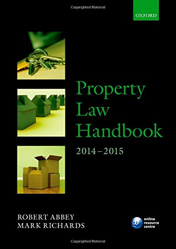 Property Law Handbook 2014 2015  Blackstone Legal Practice Course Guide