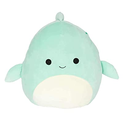 Squishmallows 8 inch Perry Dolphin Fish Plush Pillow: Kitchen & Dining