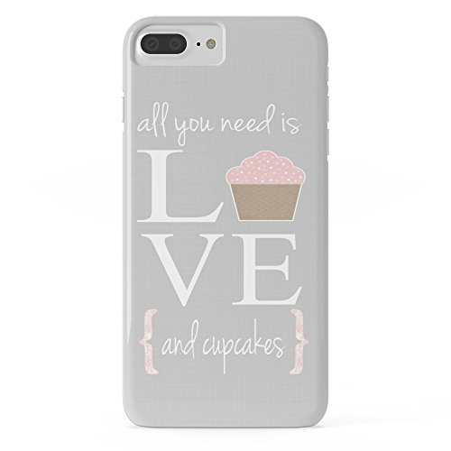 Roses Garden Phone Case Protectivedesign Cell Case All You Need Is Love And Cupcakes... Slim Case iPhone 7 Plus