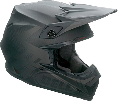 Bell Moto-9 Flex Off-Road Motorcycle Helmet (Matte Syndrome Black, X-Large)