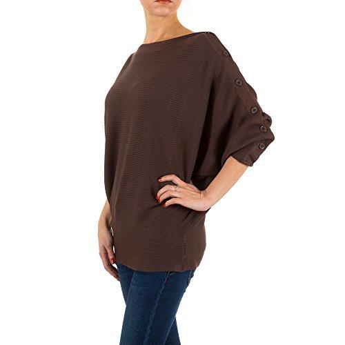 Ital-Design - Jerséi - para mujer marrón