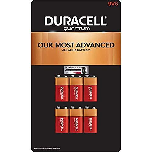 Duracell PGD QU1604BKD Quantum Battery, Alkaline, 9V (Pack of 12)