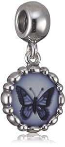 Pandora 790865CAM - Abalorio de mujer de plata de ley, 1 cm