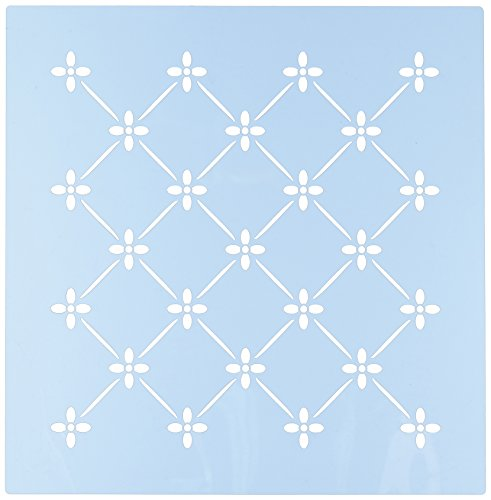 French Trellis - Faux Like a Pro Provence Trellis Stencil, 10.5 by 10.5-Inch, Single Overlay