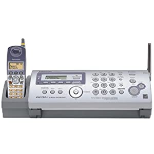 Panasonic KX-FG2451 Plain Paper Fax/Copier with 2.4GHz FHSS GigaRange? Cordless Phone and Digital Answering System