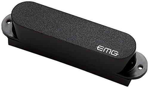 Shielding Single Coil Pickups - EMG S Ceramic Single Coil Active Pickup, Black