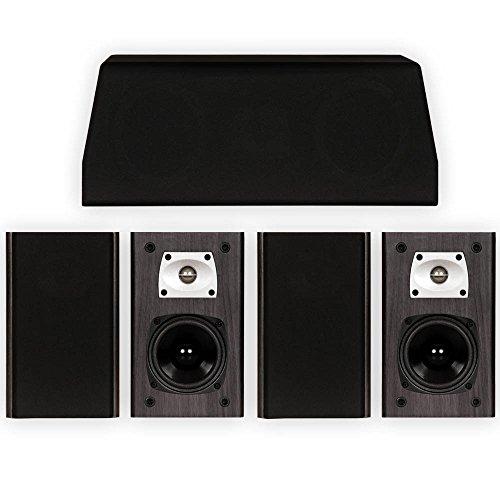 Theater Solutions B1 and C1 Bookshelf Surround Sound Home Theater 5 Speaker Set by Theater Solutions