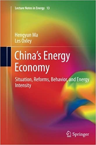 China's Energy Economy: Situation, Reforms, Behavior, and Energy Intensity (Lecture Notes in Energy) by Hengyun Ma (2014-04-17)