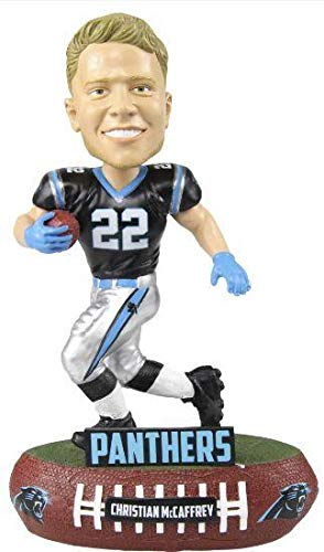 FOCO Christian McCaffrey Carolina Panthers Christian McCaffrey Baller Bobblehead NFL