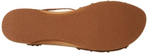Sanita Tinea Low Flex Sandal - Tira de tobillo Mujer Marrón (Cognac)