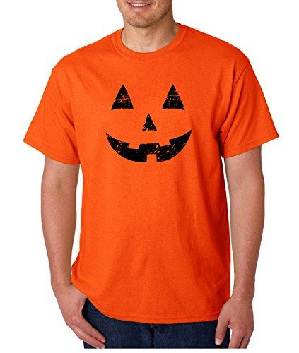 AW Fashions Funny Halloween Shirt - Spooky Hocus Pocus Horror Shirts - Costume T-Shirts Jack O Latern Pumkin Tshirts (Jack-O-Lantern 4, Small) -