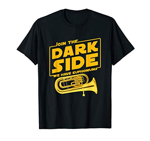 Join The Dark Side Euphonium Player T-shirt