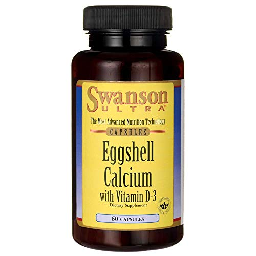 Swanson Eggshell Calcium with Vitamin D-3 60