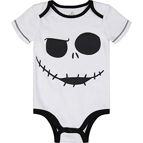 Nightmare Before Christmas Jack Skellington Baby Boys' Bodysuit -