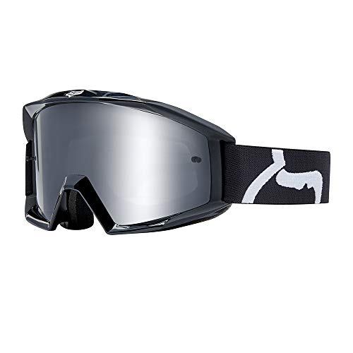 Fox Racing 2019 Main Goggles Race Black - Clear Lens (Best Mtb Helmet Light 2019)
