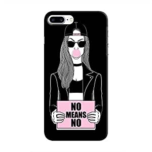 Cover It Up - No Means No iPhone 8 Plus Hard Case