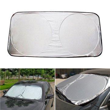 Windscreen Underwrite - 150x80cm Foldable Car Front Windshield Cover  Sunshade Visor Shield - Pass Cut Natural 85e7e141f13
