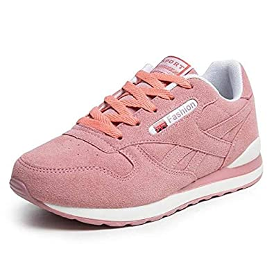 Ult Athlete Super Light Breathable Running Shoes - Pink, 7.5
