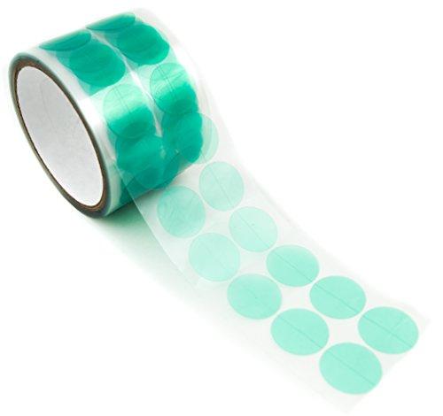 [해외]Bertech 그린 폴리에스터 마스킹 디스크 (2000롤) 1인치 / Green Polyester Masking Discs, 1 Diameter (1,000Roll)