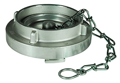 Dixon SC600-NL 6'' AL STORZ CAP WITH CABLE, 6'' ID, Aluminum by Dixon Valve & Coupling