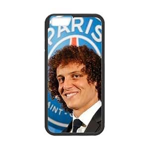 David Luiz iPhone 6 4.7 Inch Cell Phone Case Black TPU Phone Case SV_226233