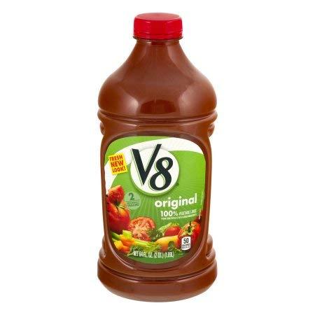 V8 Original 100% Vegetable Juice (Pack of 10)
