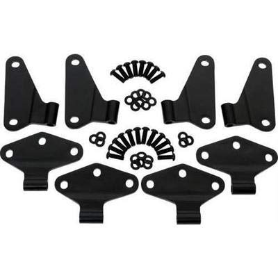 Display Set Hinge - Kentrol Body Hinge Set (8 Pieces) (4 Door) 50581