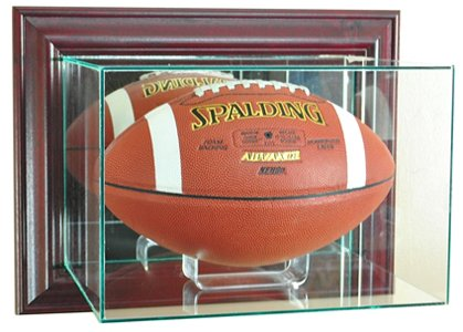 Autographed Football Case - 7