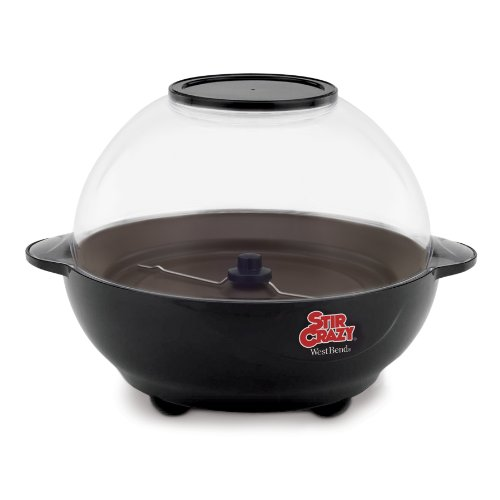 West Bend 82306 Stir Crazy 6 Quart Electric Popcorn Popper Review