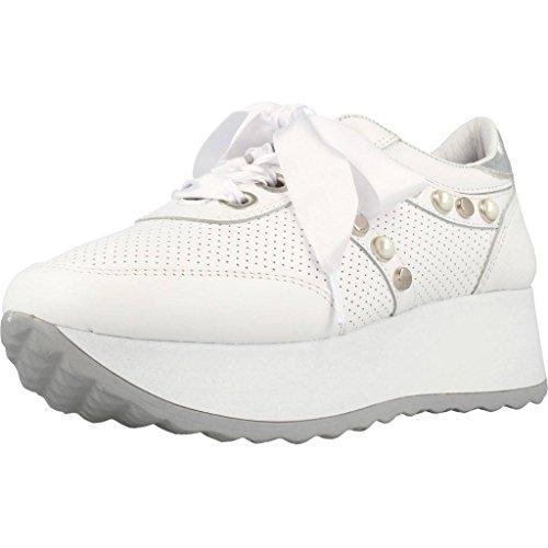 Dames Cetti Chaussures De Course, De Couleur Blanche, Marque, Modèle Dames Chaussures De Course C1146 V18 Blanc Blanc
