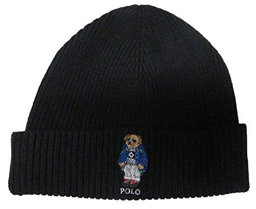 Polo Ralph Lauren Mens American Flag Bear Watch Cap