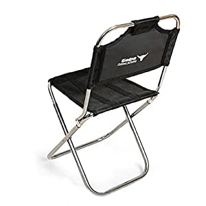 Amazon.com : Yunhigh Portable Folding Stool with Back