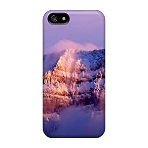 Special Design Back Snow Mountain Nature Phone Cases Covers For Iphone 5/5s
