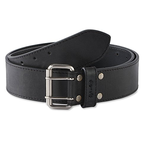 Style n Craft 392752 2-Inch Work Belt in Heavy Top Grain Hunter Leather ()