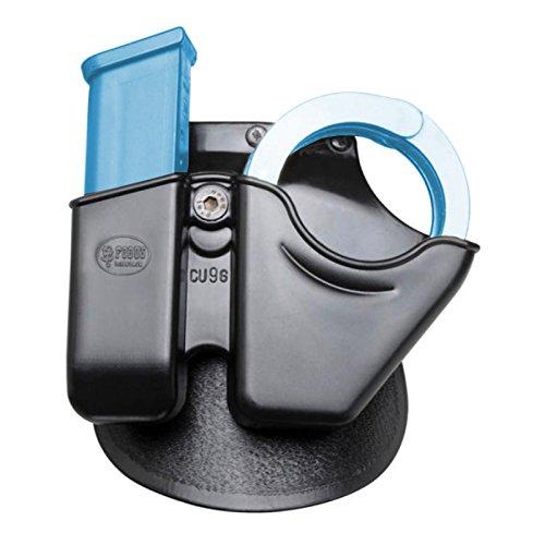 Fobus Handcuff Case - Fobus  Belt CU9GMPBH Handcuff / Magazine Combo - S&W M&P