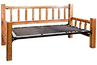 Montana Woodworks Homestead Collection Day Bed, Stain and Lacquer Finish