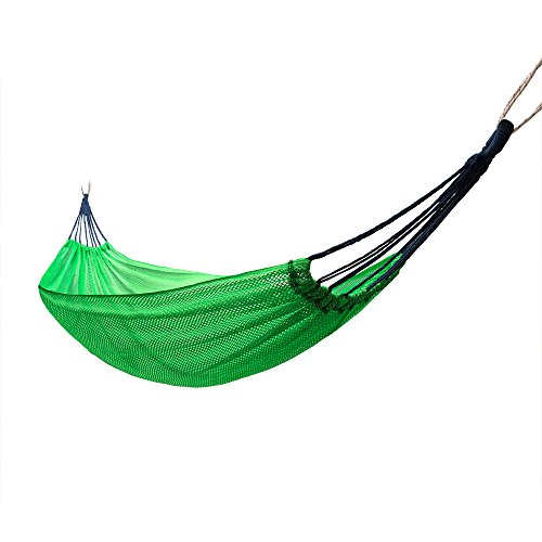 Camping Hammock - Portable Lightweight Parachute Hammocks for The Outdoors Backpacking Survival or Travel, 75''(L) x 52''(W) by iMissiu
