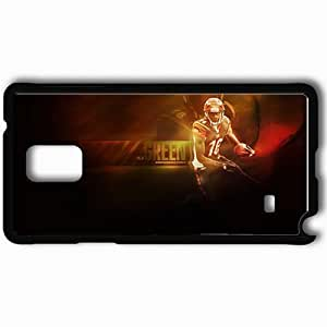 Personalized Samsung Note 4 Cell phone Case/Cover Skin 14387 aj green Black hjbrhga1544