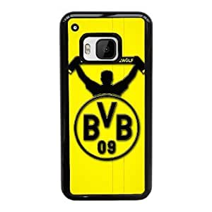 Plastic Cases Iiite HTC One M9 Cell Phone Case Black BVB Borussia Dortmund Generic Design Back Case Cover