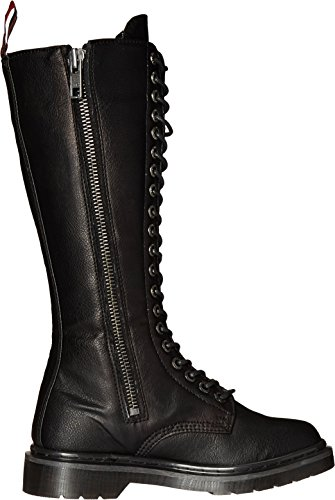 Demonia Womens Riv400 / Bpu Boot Nero Vegan Leather
