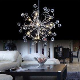Moderne Kronleuchter moderne kristall kronleuchter mit 15 lichtern amazon de beleuchtung