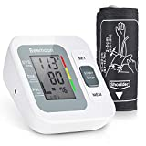 Beemoon Upper Arm Blood Pressure Monitor, FDA Automatic Digital Digital Blood Pressure Cuff, BP Monitor with Large Display, Upper Arm Cuff, Two User Support