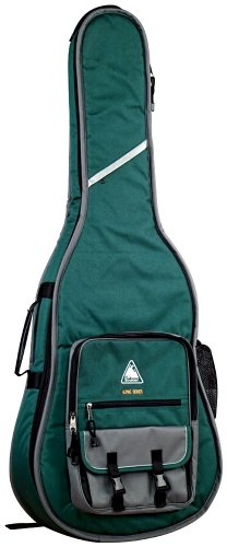 UPC 688382012066, Boulder CB-362GN Alpine Deluxe Classical/Resophonic Guitar Gig Bag - Forest Green