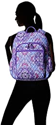 Vera Bradley Campus Tech Backpack, Lilac Tapestry, One Size