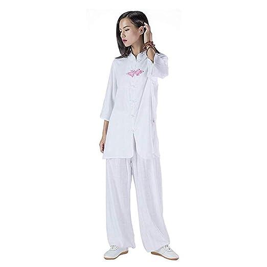 XGYUII Mujeres Tai Chi Traje Uniforme de Artes Marciales Kung Fu ...